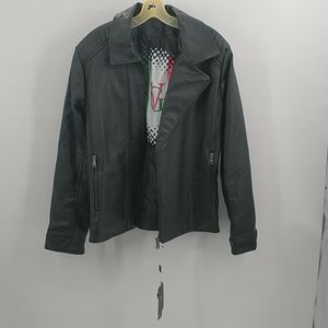 NWT VG World Collection Men's Leather Jacket